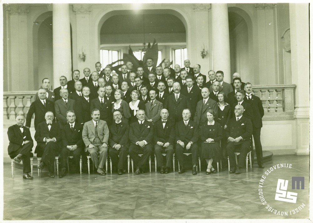 1. Odbor Ljubljanskih Sokolov, ki je vodil priprave na I. pokrajinski zlet Sokolov kraljevine Jugoslavije leta 1933. Obenem je Ljubljanski Sokol praznoval 70-letnico društva