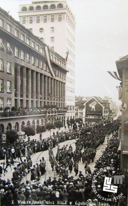 24. Slavnostni sprevod po ulicah Ljubljane