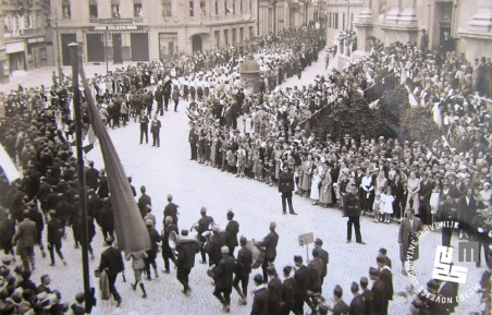 28. Slavnostni sprevod po ulicah Ljubljane