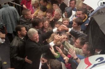 Obisk predsednika ZDA Billa Clintona v Sloveniji, 21. 6. 1999.