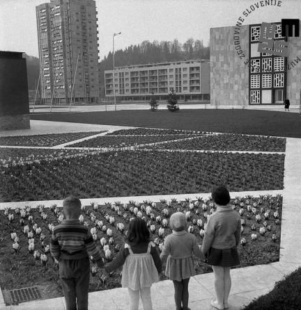 Mladost v novem Velenju, april 1961.