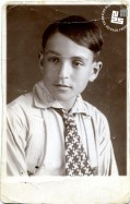 5. Portret Edija Šelhausa, star ok. 15 let, predvidoma v Zagrebu, 1933-1935, foto: Janko Šelhaus.